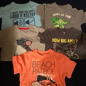 Other - Boys size 5/5t lot of 6